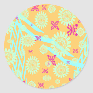 Absolutely Fabulous Classic Round Sticker