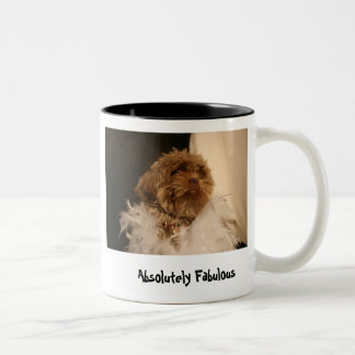 Absolutely Fabulous Two-Tone Coffee Mug