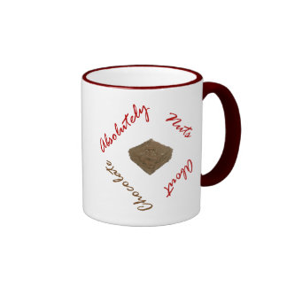 Absolutely Nuts About Chocolate Mugs