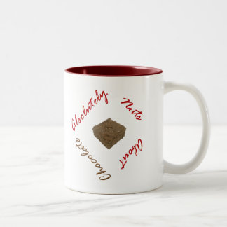 Absolutely Nuts About Chocolate Two-Tone Coffee Mug