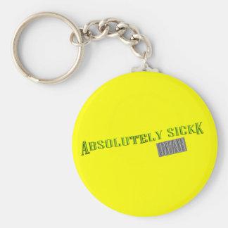 Absolutely Sickk Gear Keychain