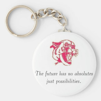 Absolutes are Possibilities Basic Round Button Keychain