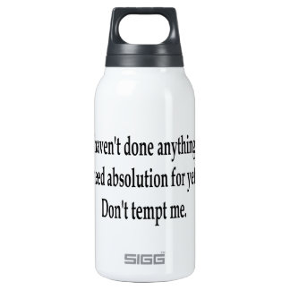Absolution Insulated Water Bottle