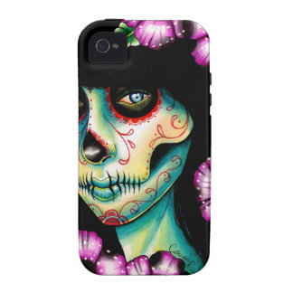 Absolution Sugar Skull Girl Vibe iPhone 4 Case