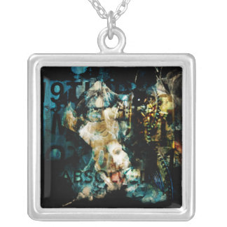 Absolved Square Pendant Necklace