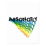 ABSONOTLY POSTCARD