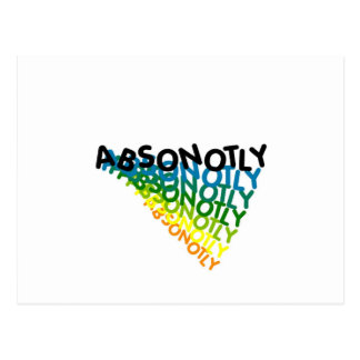 ABSONOTLY POSTCARDS