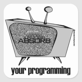 ABSORB your programming sticker