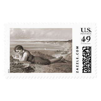 Absorbed 1871 stamp