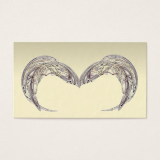 Absract Angel Wings Reiki Psychic Business Cards