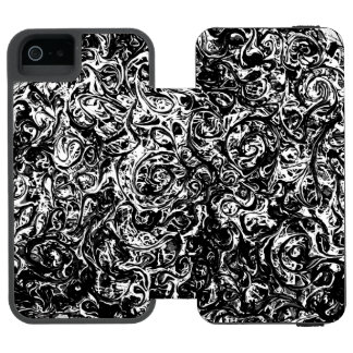 absract Art no1 Wallet Case For iPhone SE/5/5s