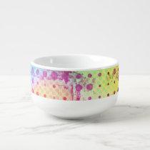 Absract Dots Soup Mug