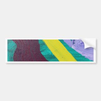 Absract Woman Bumper Sticker