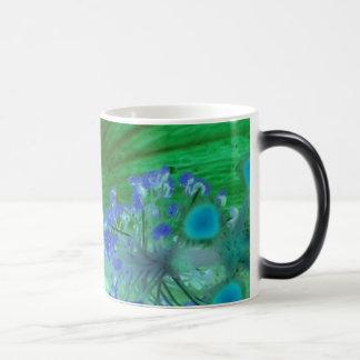 Absrtact art Mug Green/Blue