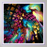 Abstact art digital print: Pieces Of A Dream