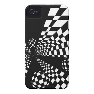 Abstact Checker iPhone Case