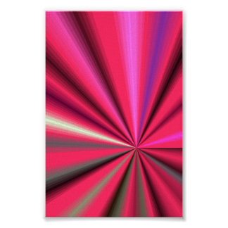 Abstact Pink Passion Poster