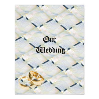 abstact wedding card