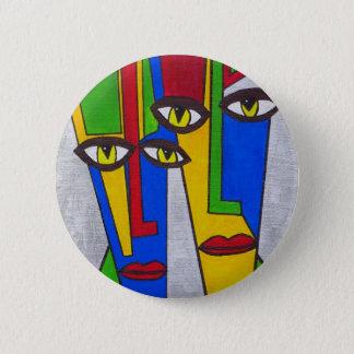 Abstakt Pinback Button