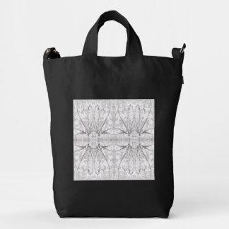 Abstarct art BAGGU Duck Bag, Black Duck Bag