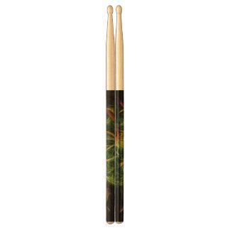 Abstarct Art Space Flowers Drumsticks
