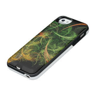Abstarct Art Space Flowers iPhone SE/5/5s Battery Case