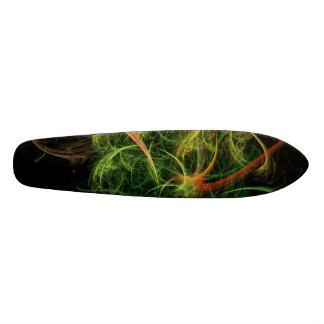 Abstarct Art Space Flowers Custom Skateboard