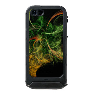 Abstarct Art Space Flowers Waterproof iPhone SE/5/5s Case