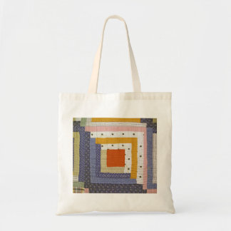 Abstarct Patch Tote Bag