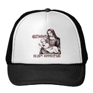 Abstinence:  99.99% Effective Trucker Hat
