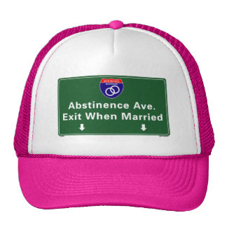 Abstinence Ave. Trucker Hat