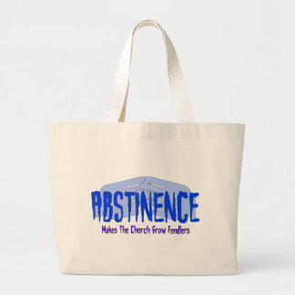Abstinence Canvas Bags