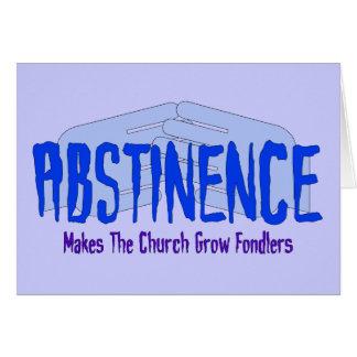Abstinence Card