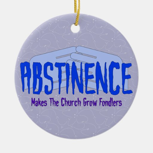 Abstinence Christmas Ornaments