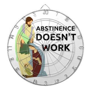 Abstinence Doesn't Work Dart Board
