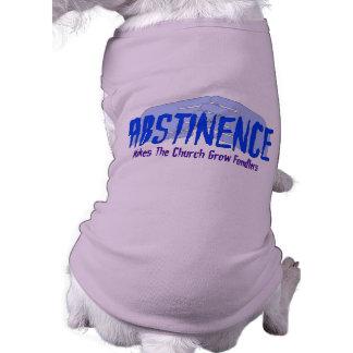 Abstinencia Camiseta De Perro