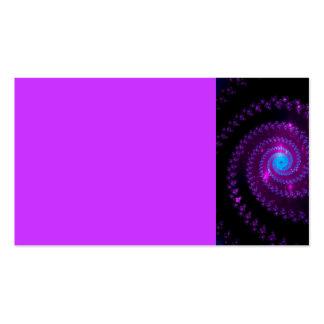 abstrac de la galaxia del espacio del espiral del tarjeta de visita