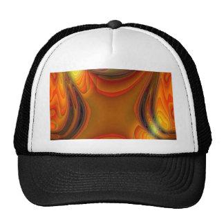 ABSTRAC T ART TRUCKER HAT