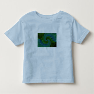 abstracat fractals photomanipulations toddler t-shirt