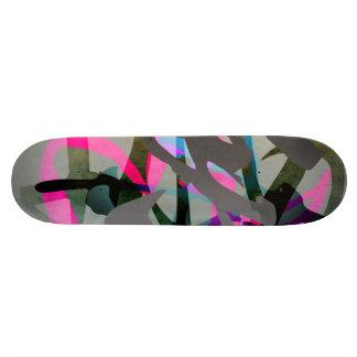 """abstracción #1 (camou urbano) de la cubierta patineta 7 3/4"""""""