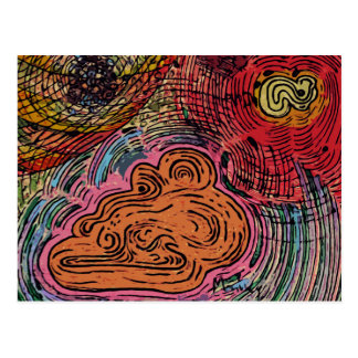 Abstracción # 1 postales