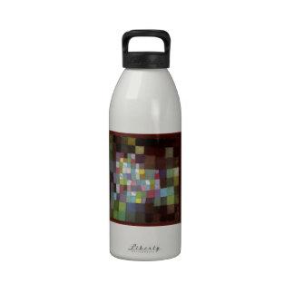Abstracción de Paul Klee- de un árbol floreciente Botella De Agua Reutilizable