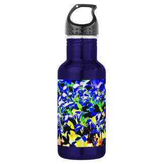 Abstracción del color botella de agua
