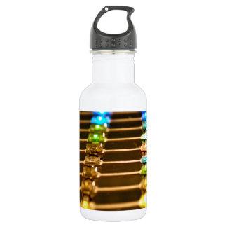 Abstracción del LED Botella De Agua