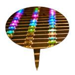 Abstracción del LED Figuras De Tarta