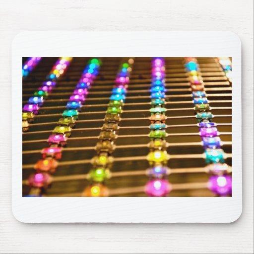 Abstracción del LED Tapetes De Raton