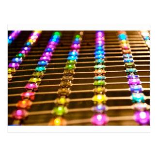 Abstracción del LED Tarjetas Postales