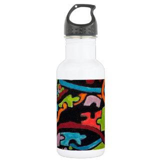 Abstracción integrada botella de agua