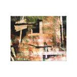 Abstracción Lienzo Envuelto Para Galerias