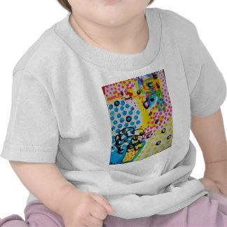 abstracción manchada por el barro camisetas